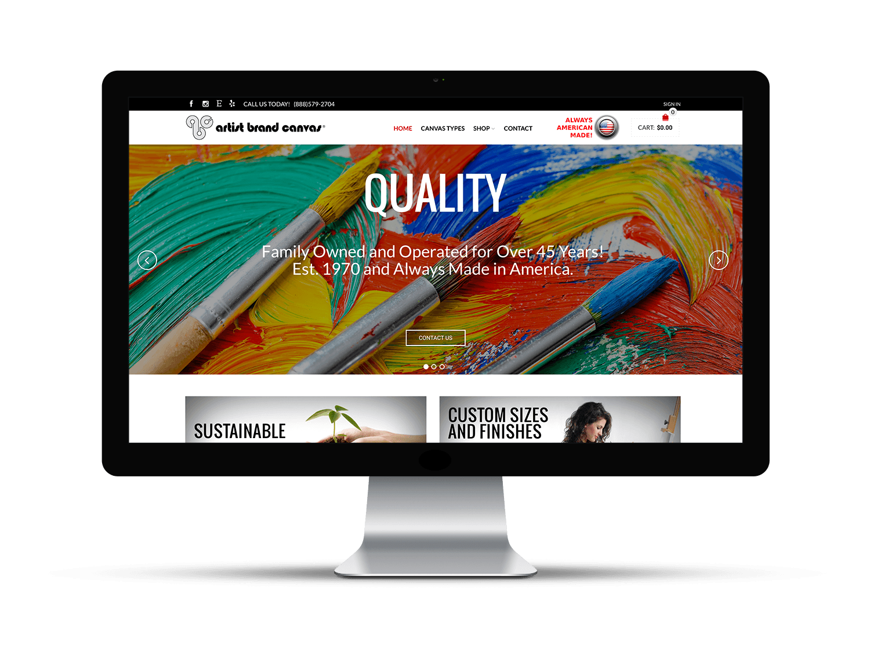 clickfirst media artist brand canvas